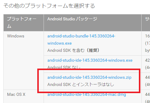 android sdk dl