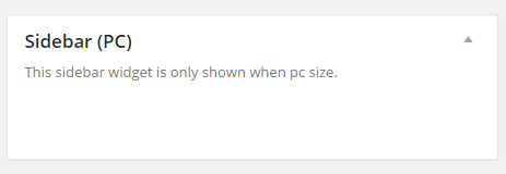 Sidebar (PC)