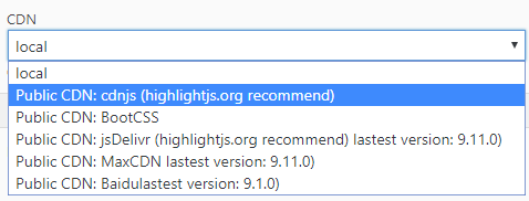 WP Code Highlight.js step7