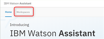 Watson Assistant step7