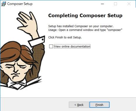 Composer インストール